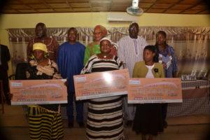 Lauréates de la région de la Boucle du Mouhoun