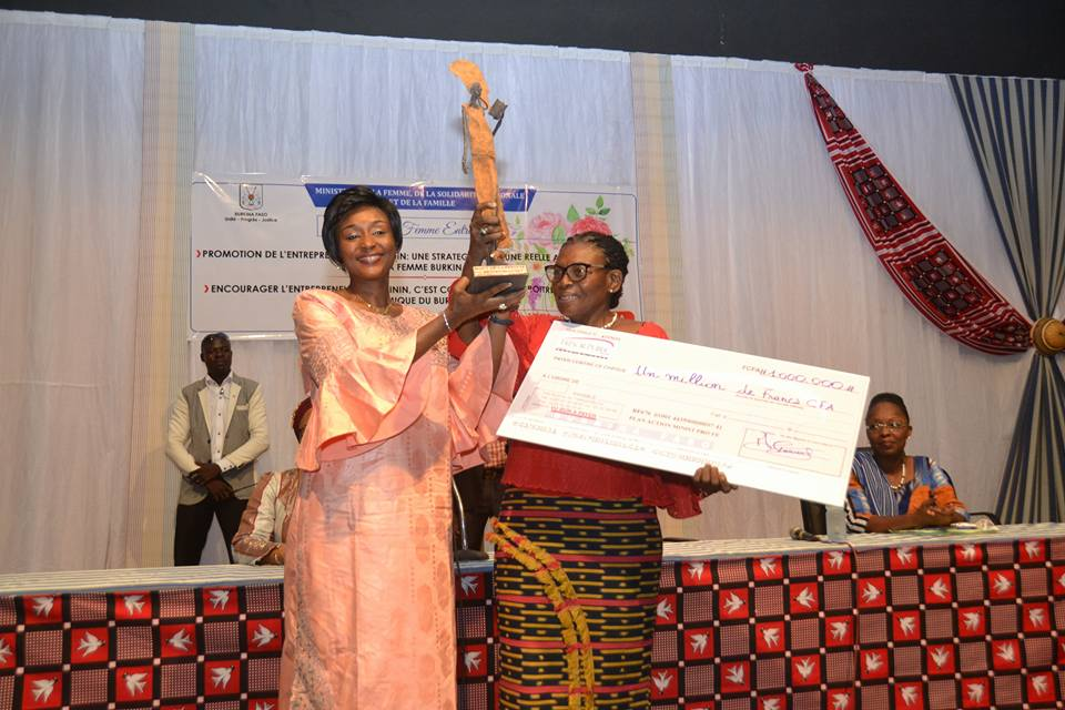Entreprenariat féminin au Burkina : Alice OUEDRAOGO, une doyenne du domaine