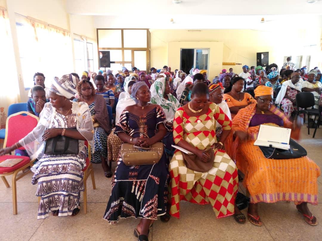 Session d'information et de sensibilisation sur fonds des activités rémunératrices des femmes à Fada N'Gourma